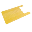 HDPE Hemdchentasche Jumbo geblockt 30x18x55cm 12my gelb (PACK=200 STÜCK) Produktbild
