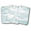 Abreißfaltenbeutel 16x6x28+3cm transparent (PACK=500 STÜCK) Produktbild