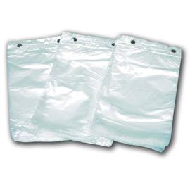 Abreißfaltenbeutel 16+6x28cm 10my transparent (KTN=2500 STÜCK) Produktbild