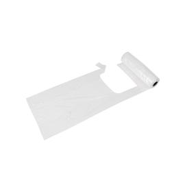 Knotenbeutel HDPE extra stark 22x11x47cm transparent 5kg auf der Rolle (RLL=200 STÜCK) Produktbild