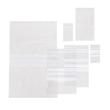 LDPE Druckverschlussbeutel transparent 160 x 220mm / 50µ / Stempelfeld (KTN=1000 STÜCK) Produktbild Additional View 1 S