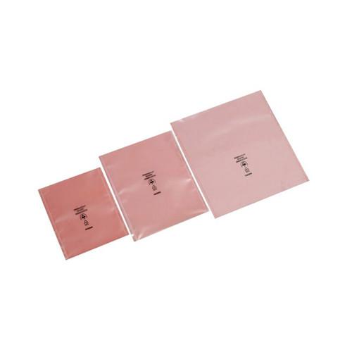 LDPE Flachbeutel rosa 150 x 225mm / 100µ / antistatisch (PACK=100 STÜCK) Produktbild Front View L