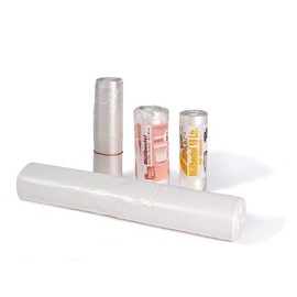 Müllbeutel 30l / 6µ / 490x600mm / transparent / HDPE / Standard (RLL=50 STÜCK) Produktbild
