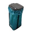 Müllsackständer für bis 120l Säcke / schwarz / Kunststoff Produktbild