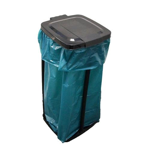 Müllsackständer Kunststoff schwarz 120l Produktbild