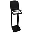 Müllsackständer für bis 120l Säcke / schwarz / Kunststoff Produktbild Additional View 2 S