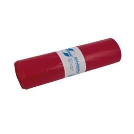 Müllsäcke 120l / 60µ / 700x1100mm / rot / Premium (RLL=25 STÜCK) Produktbild