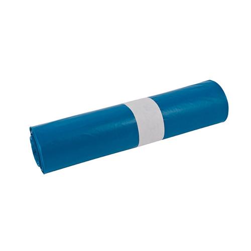 Müllsäcke 120l / 35µ / 800x1000mm / blau / LDPE / Standard Typ60 (RLL=25 STÜCK) Produktbild Front View L