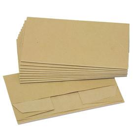Bio-Papiermüllbeutel 20+16x36cm 10l 70g braun (PACK=10 STÜCK) Produktbild