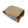 Bio-Papiermüllbeutel 10l / 70g / 200+160x360mm /  braun / kompostierbar (PACK=10 STÜCK) Produktbild