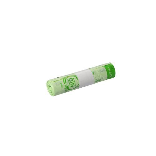 Bio-Müllbeutel Bioline 30l / 20µ / 450x680mm / natur / Ecovio ® (RLL=10 STÜCK) Produktbild Additional View 2 L