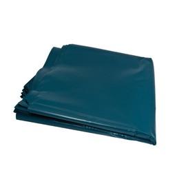 Müllsäcke 240l / 50µ / 650+550x1350mm / blau / LDPE / Standard (KTN=100 STÜCK) Produktbild