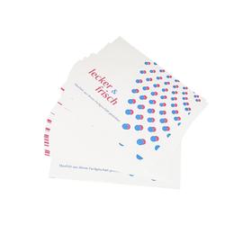 Top-Frisch Papier mit Folie 1/16 Bogen 18.5x25cm 35g Neutraldruck lecker & frisch Brutto für Netto (KTN=12,5 KILOGRAMM) Produktbild