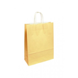 "Papiertragetaschen ""Komfort-Color"" 320+130x425mm 100g sand mit gedrehter Papierkordel (KTN=250 STÜCK) Produktbild"