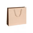 """Papiertragetaschen """"Royal"""" 420+130x370mm 170g beige mit Baumwollband (KTN=50 STÜCK) Produktbild"""