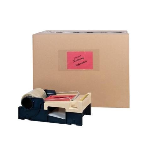 PP Adressenschutzband transparent 150mm x 66m / 30µ / Hotmelt / MONTA 330 (RLL=66 METER) Produktbild Additional View 2 L