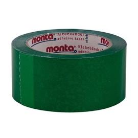 PVC Klebeband grün MONTA 250F 50mm x 66m / 35µ / Naturkautschuk (RLL=66 METER) Produktbild