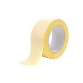 PP Klebeband doppelseitig gelb 50mm x 25m / stärker-schwächer Messe-Tepichband (RLL=25 METER) Produktbild