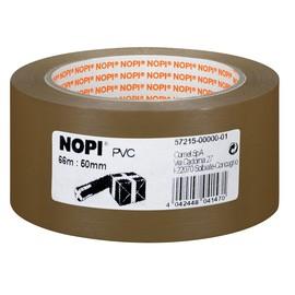 Klebeband NOPI Tesapack 50mm x 66m braun PVC geprägt Tesa 57215-00000-01 (RLL=66 METER) Produktbild