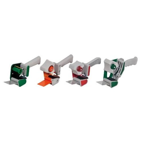 Klebebandabroller orange 50mm / H3S / Soft-Touch-Griff mit einziehbarer Klinge Produktbild Additional View 3 L