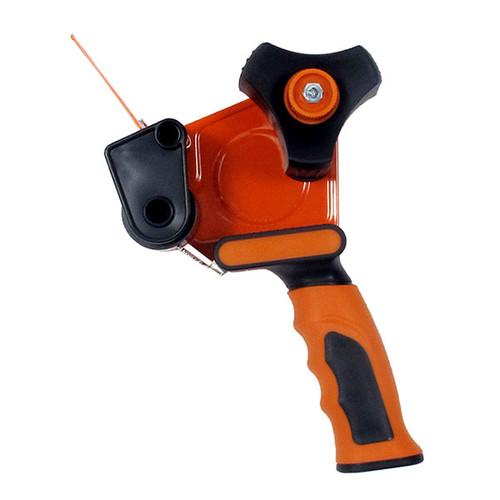 Klebebandabroller orange 50mm / H3S / Soft-Touch-Griff mit einziehbarer Klinge Produktbild