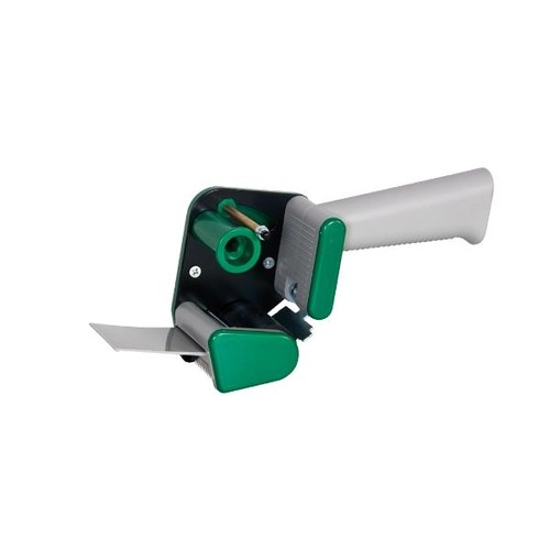 Klebebandabroller grün 50mm / H15 / leise abrollend Produktbild