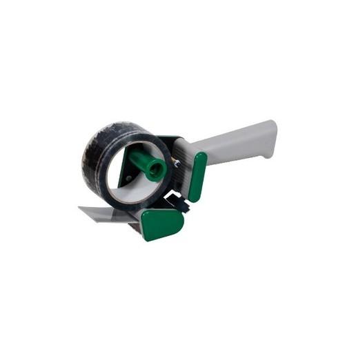 Klebebandabroller grün 50mm / H15 / leise abrollend Produktbild Additional View 1 L