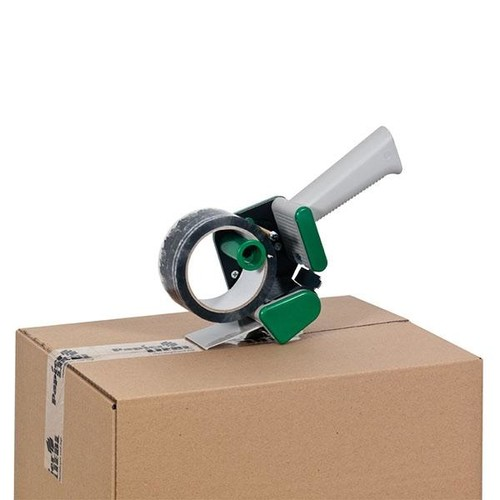 Klebebandabroller grün 50mm / H15 / leise abrollend Produktbild Additional View 2 L