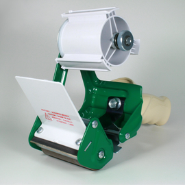 Klebebandabroller grün 75mm / HA67BM mit Feststellbremse Produktbild