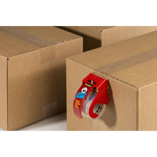 Handabroller + 1Rolle Packband 50,8mmx20,3m extra transparent Scotch E5020D Produktbild Additional View 3 L