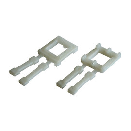 PP Kunststoffschnalle natur für Umreifungsband 16mm (KTN=1000 STÜCK) Produktbild