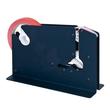 Beutelschliesser für Klebeband bis 12mm blau E7-R mit Trennmesser Produktbild Additional View 1 S
