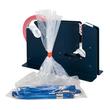 Beutelschliesser für Klebeband bis 12mm blau E7-R mit Trennmesser Produktbild Additional View 3 S
