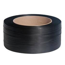 PP Umreifungsband schwarz 12,0 x 0,55mm / 2500m / Kern: 280mm (RLL=2500 METER) Produktbild