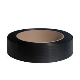 PP Umreifungsband schwarz 12,7 x 0,73mm / 2000m / Kern: 406mm (RLL=2000 METER) Produktbild
