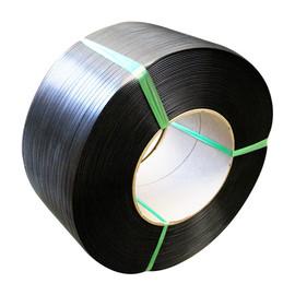 PP Umreifungsband schwarz 9,0 x 0,55mm / 4000m / Kern: 200mm (RLL=4000 METER) Produktbild