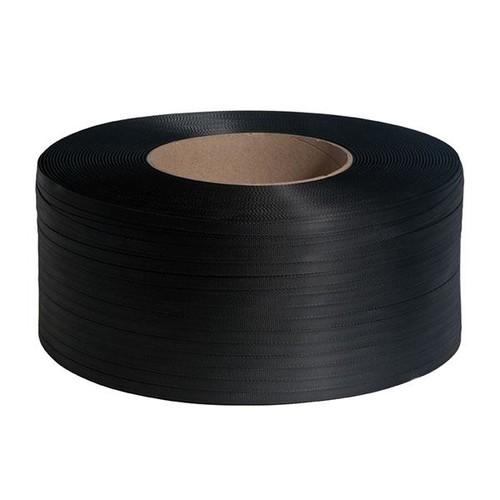PP Umreifungsband schwarz 12,0 x 0,63mm / 3000m / Kern: 200mm (RLL=3000 METER) Produktbild