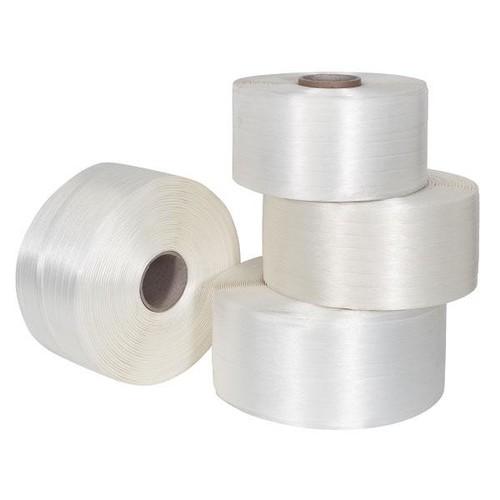 Polyester Fadenband weiß 13mm x 1100m (RLL=1100 METER) Produktbild Additional View 1 L