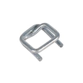 Metallklemme verzinkt F¿r Polyester Fadenband 13mm (KTN=1000 STÜCK) Produktbild