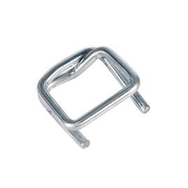 Metallklemme verzinkt F¿r Polyester Fadenband 16mm (KTN=1000 STÜCK) Produktbild