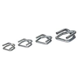 Metallklemme verzinkt F¿r Polyester Fadenband 25mm (KTN=500 STÜCK) Produktbild
