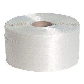 Polyester Fadenband weiß 25mm x 500m (RLL=500 METER) Produktbild