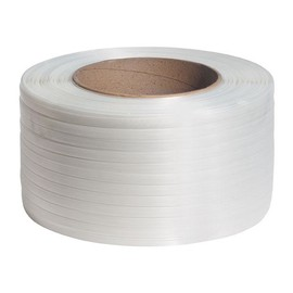 Polyester Compositband weiß 13mm x 1100m (RLL=1100 METER) Produktbild