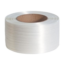 Polyester Compositband weiß 16mm x 850m (RLL=850 METER) Produktbild