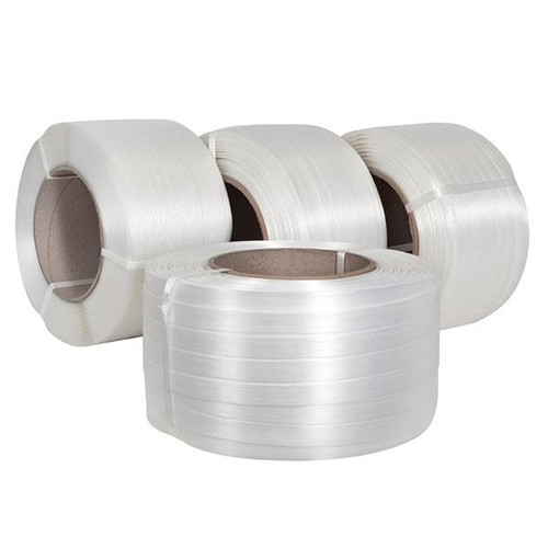 Polyester Compositband weiß 25mm x 500m (RLL=500 METER) Produktbild Additional View 1 L
