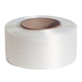 Polyester Compositband weiß 25mm x 500m (RLL=500 METER) Produktbild