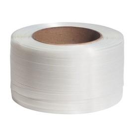 Polyester Compositband weiß 19mm x 600m (RLL=600 METER) Produktbild