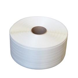 Polyester Fadenband weiß 16mm x 850m / gewebt (RLL=850 METER) Produktbild