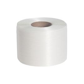 Ballenpressband weiß 9mm x 500m (RLL=500 METER) Produktbild