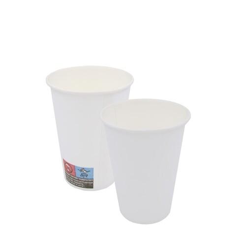 Pappbecher 0,18l weiß ohne Eichstrich (PACK=100 STÜCK) Produktbild Additional View 1 L